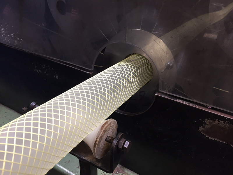 Co-extruded PUR hose